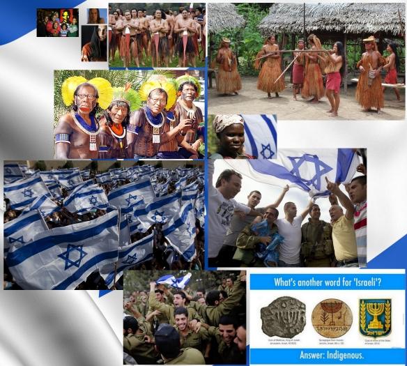 Israël symbole et exemple des peuples autochtones